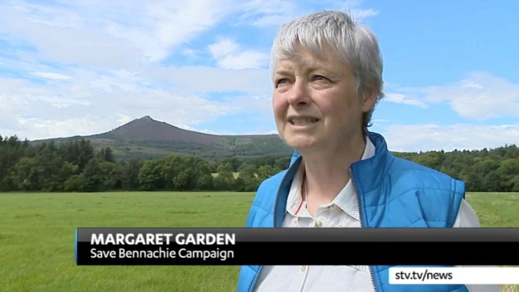 Save Bennachie on STV News