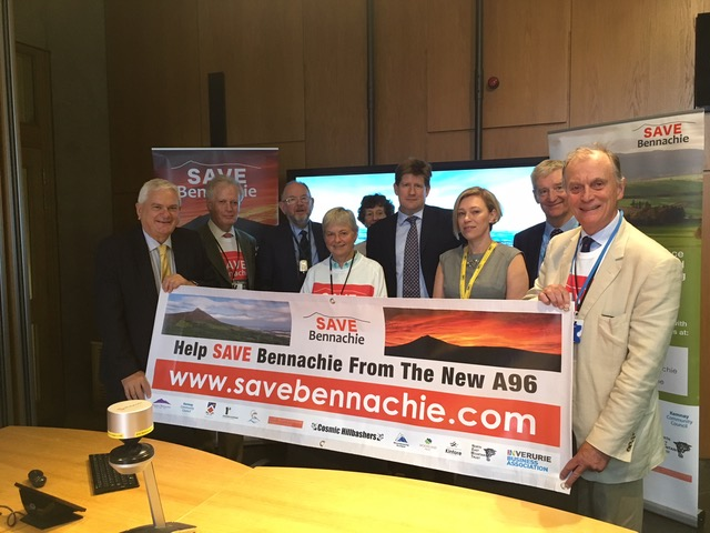 Save Bennachie Campaign Meets with Scottish Transport Minister