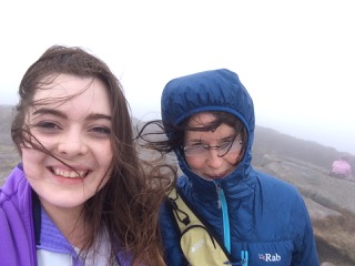 Susan and now-grown daughter still enjoy Bennachie in all its guises